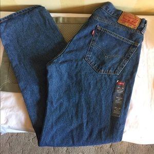 Levi's 505 Reg. Straight fit Mens NWT Jeans 34x32